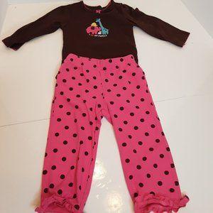 Carters 2 piece pant/top set size 18 Month
